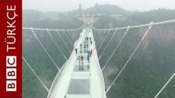 Cam köprüye balyoz testi - BBC TÜRKÇE