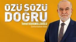 Türkiye'nin özü sözü doğru bir sese ihtiyacı var.