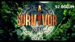Survivor 2018   92. bölüm özeti