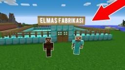 ZENGİN ELMAS FABRİKASI YAPIYOR!