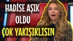 Hadise'nin Yakışıklı Çağrı Oyguç'a Dibi Düştü   O Ses Türkiye
