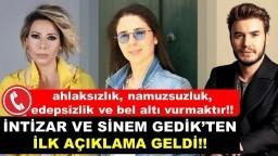 Aşk İddiasina İntizar ve Sinem Gedik'ten İLK AÇIKLAMA GELDİ !