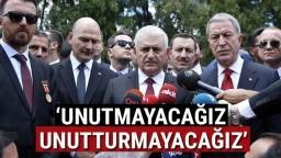 """TBMM Başkanı Yıldırım: """"Acılarımız Tazeliğini Koruyor"""""""