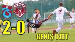 Trabzonspor 2-0 NK Triglav Kranj - Geniş Özet- Hazırlık Maçı- 15.07.2018