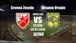 Crvena Zvezda-Dinamo Vranje 1:0 UZIVO PRENOS [HD] 20.07.2018