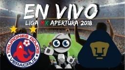 Veracruz Vs Pumas En Vivo Jornada 1 Liga MX 2018