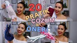 SEYAHAT EDEN HERKESİN BİLMESİ GEREKEN 20 PRATİK ÇÖZÜM!