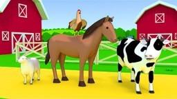Hayvanları Öğreniyoruz (Çiftlik Hayvanları) - Çocuklar İçin Hayvanlar - Okul Öncesi Eğitim