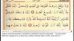 02 Bakara Suresi ᴴᴰ (Kuran'ı Kerim Meal Oku,Arapçasını Dinle,Ok Takipli) Saad El Ghamidi