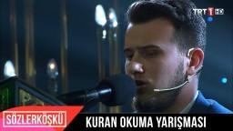 TRT 1 Kuran Okuma Yarışması Finalisti Osman Bostancı Kur'an Tilaveti!