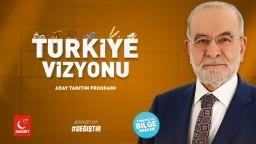 Türkiye Vizyonu Programı | Cumhurbaşkanı Adayı Temel Karamollaoğlu