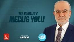 Tek Rumeli Tv - Cumhurbaşkanı Adayı Temel Karamollaoğlu - 01.06.2018