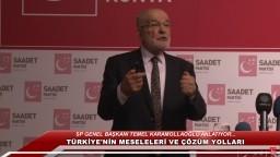 Konya - Türkiye'nin Meseleleri ve Çözüm Yolları - Temel Karamollaoğlu