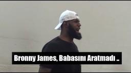 LeBron James, Oğlu Bronny James'in Maçını İzliyor..