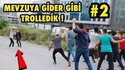 TOPLUCA İNSANLARIN ÜSTÜNE KOŞMA ŞAKASI İLE TROLLEDİK 2 !