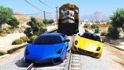 Hızlı Arabalar Takımı Uzun Tren Yolu Parkından Uçuyor (Hikaye Tadında)