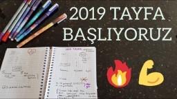 2019 Tayfa Yazın Ne Yapmalı?   Ders Çalışma Programı