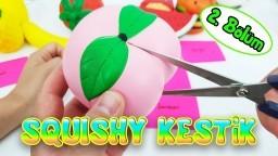 Squishy Kesmek - Eğlenceli Slime Challenge - 2. Bölüm Vak Vak TV