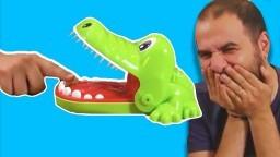 Timsah Dişçide Oynadık #2 - Dişlerinde Kürdan Var!