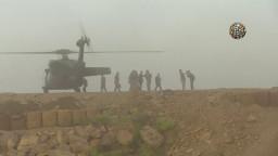 Efsane komutan Hulusi Akar helikopterden efsane iniş