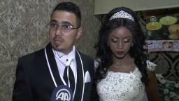 Müslüman olan Etiyopyalı genç kıza Türk usulü düğün KAYSERİ