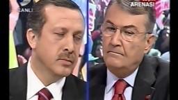 Tayyip Erdoğan vs. Deniz Baykal - Seçim Arenası Programı 25.10.02 - Uğur Dündar