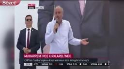 SON DAKİKA! Muharrem İnce TRT'ye giydirirken TRT Mitinge Canlı Bağlandı!