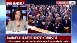 Devlet Bahçeli'den Recep Tayyip Erdoğan'a Destek: ''Birlikte Avrupa'ya Gidebiliriz''