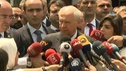 MHP Lideri Devlet Bahçeli Oyunu Kullandı