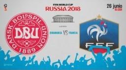 EN VIVO Dinamarca vs Francia Mundial 2018 NARRACIÓN