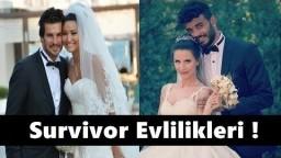 Survivor Sonrası Evlenen Yarışmacılar !