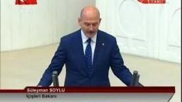 Süleyman Soylu yemin ederken CHP ve HDP'liler böyle kaçtı