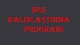 SES DEĞİŞTİRME PROGRAMI (YAŞ 25) | KIZ SESİ | ADAM SESİ |