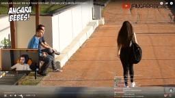 Ferit wtcN - Angara Bebesi ''Kekolar Yalnız Bir Kızı Taciz Eder Mi?'' İzliyor