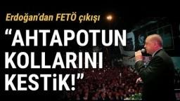 """Başkan Erdoğan Şehitler Köprüsü'nde Konuştu: """"Ahtapotun Kollarını Kestik"""""""