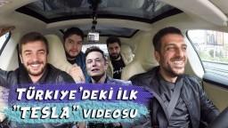 """TÜRKİYE'DEKİ İLK YENİ """"TESLA'' VİDEOSU - Elon MUSK"""