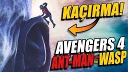 AÇIKLIYORUM: ANT MAN ve WASP SON SAHNE ÇOK ÖNEMLİ! AVENGERS 4