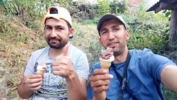 Köye dondurmacı gelmiş almadan olmaz sohbet muhabbet dolu bir vlog sizlerle