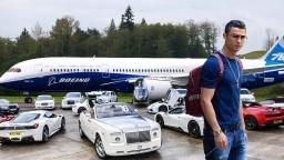 Sadece Cristiano Ronaldo'nun Sahip Olduğu 10 Pahalı Şey - Zenginlerin Çoğu Alamıyor.